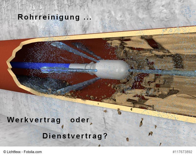rohrreinigung-bild-Fotolia-17673892_Subscription_XL-dienstvertrag-werksvertrag.