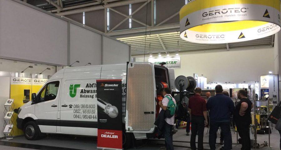 Leistungsstarker neuer Spülwagen von Abflussdienst auf der IFAT 2018