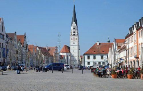 Hauptplatz in Pfaffenhofen Rohrreinigung München